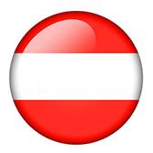 Cerchio rappresentante la bandiera austriaca