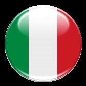 Cerchio rappresentante la bandiera italiana
